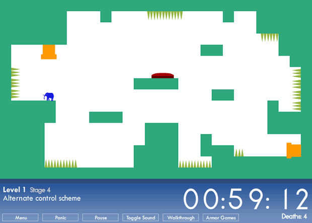 Flash Game – This Is The Only Level