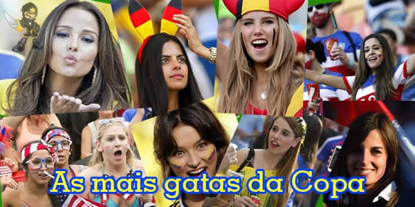 As mais gatas da Copa – Fotos